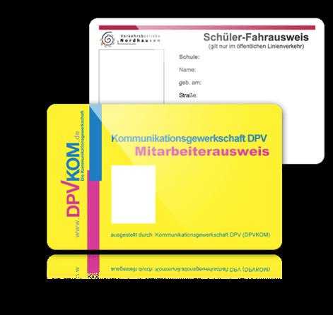 Školní plastové karty
